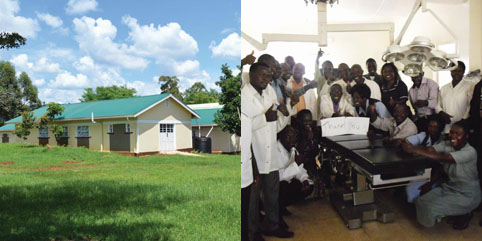 The Dreamland Mission hospital and staff in Kenya