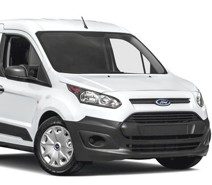 White Ford Transit Connect