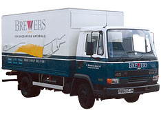 Brewers delivery van, 1993