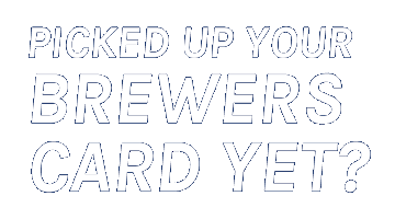 Picked up your Brewers card yet?