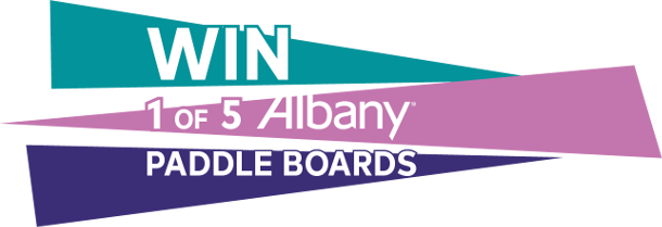 Win 1 of 5 paddle boards