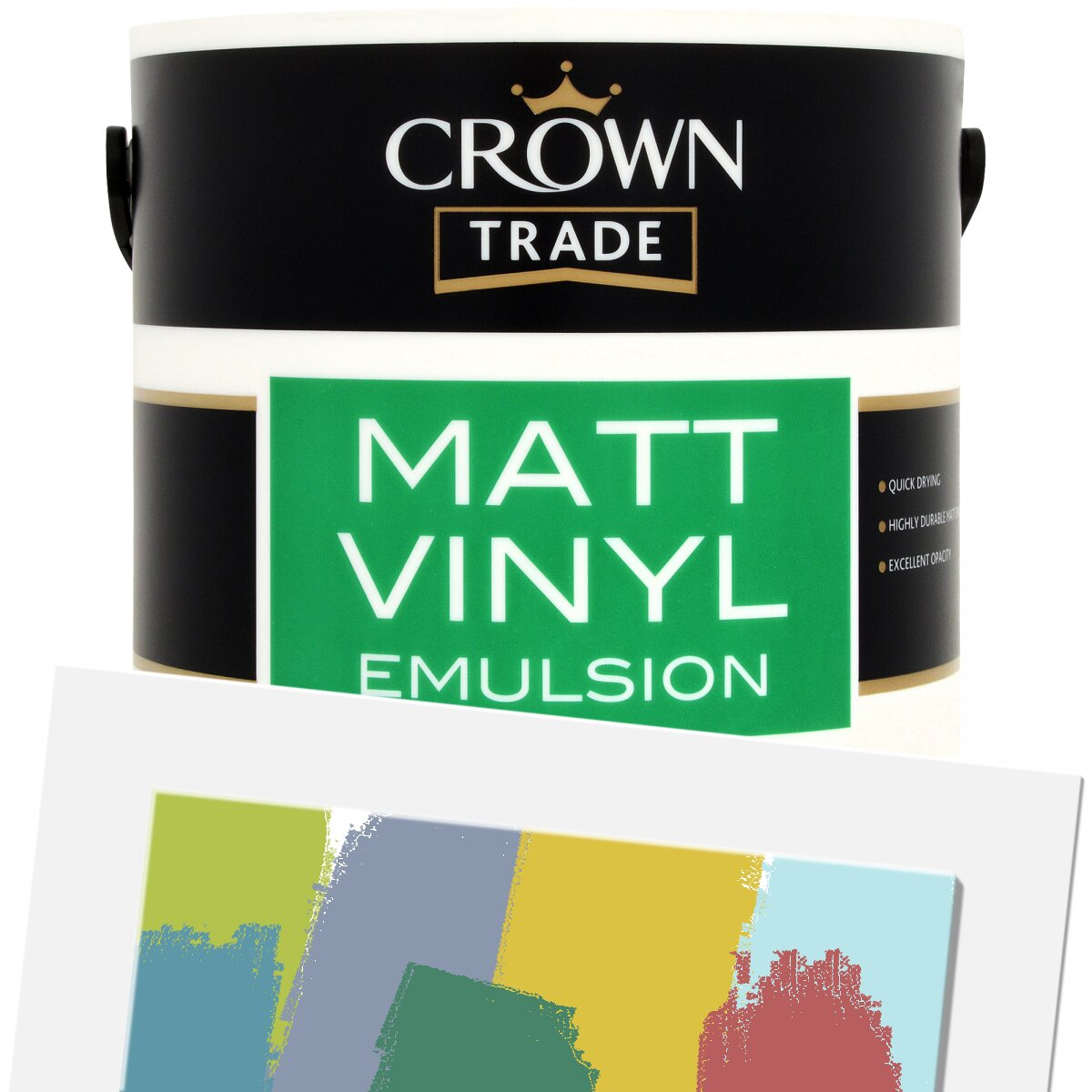 Crown Trade Matt Vinyl Colour Tinted Refined 1l