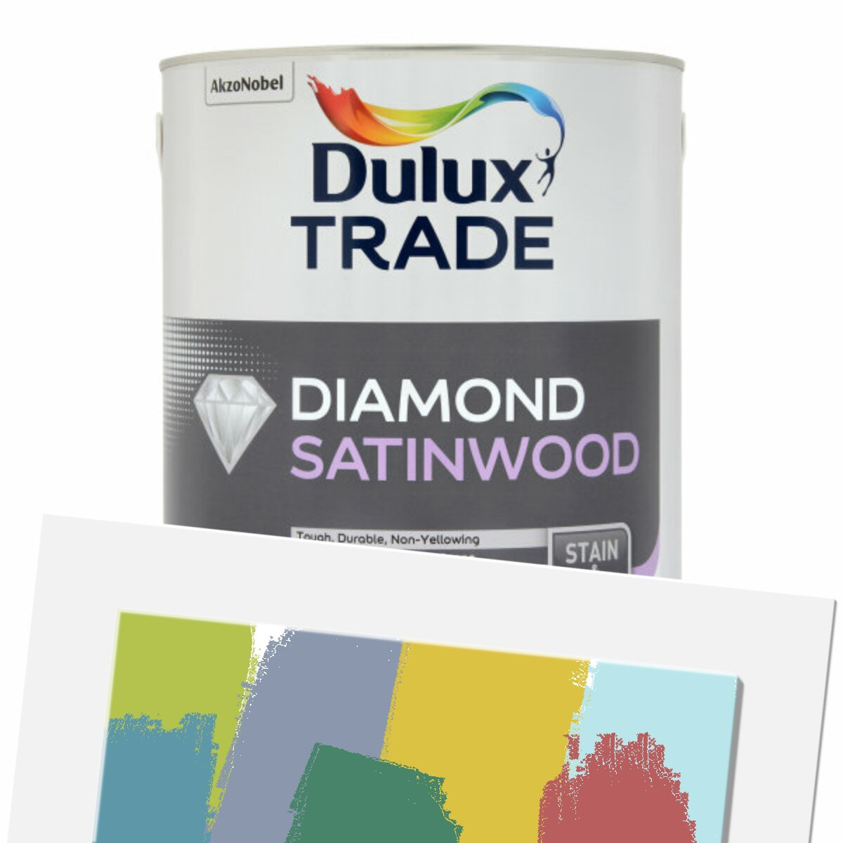 Dulux Trade Diamond Satinwood Colour Tinted Polished Pebble 5l