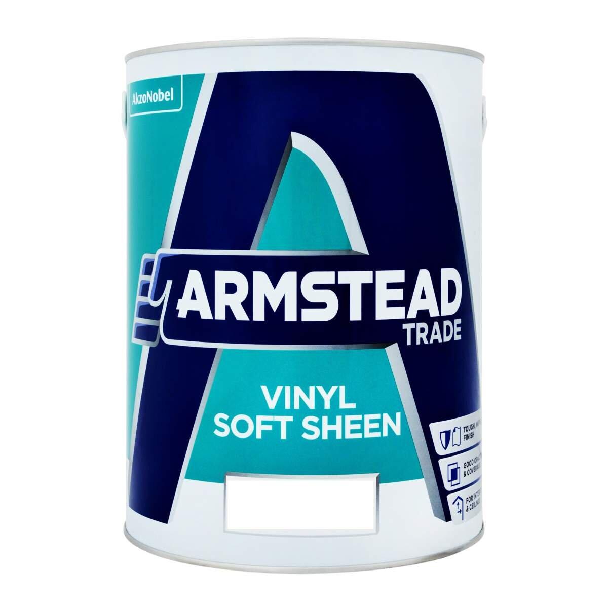 Armstead Trade Vinyl Soft Sheen Magnolia Ready Mixed 5l