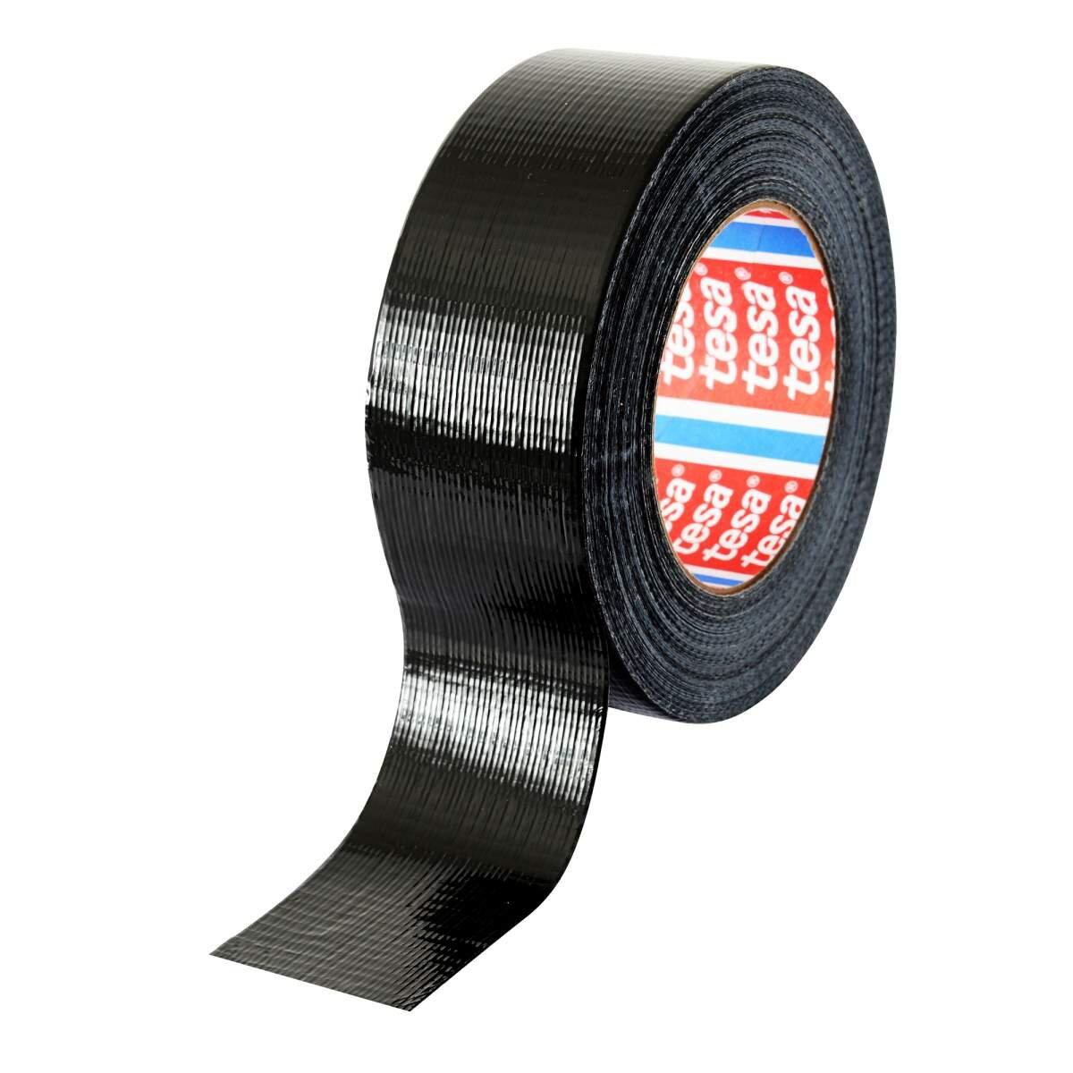 Tesa Duct Tape Black 48mm X 50m