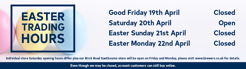 Easter Opening - Closed Good Friday, Easter Sunday and Easter Monday