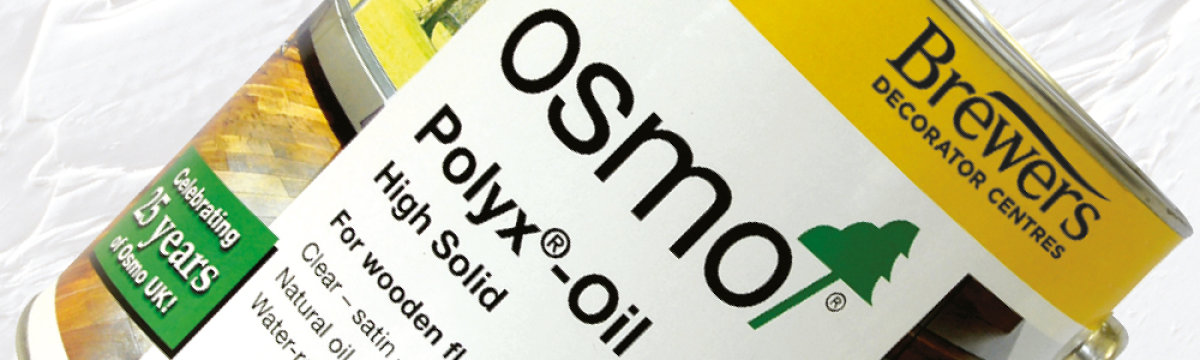 Brewers exclusive 3 litre Osmo helps you cover more for less!