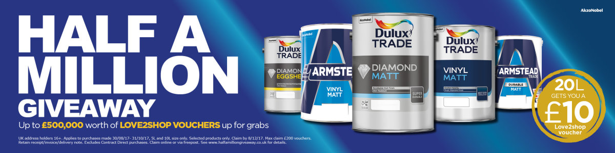 Love2shop with Dulux at Brewers