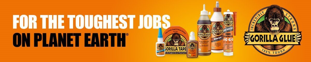Gorilla Glue Large Banner