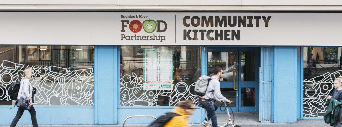 A Brighton community kitchen creates food for thought