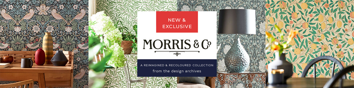 Exclusive Wallpaper Collection: Morris & Co.