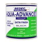 Aqua-Advanced Satin Black (Ready Mixed)