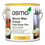 Wood Wax Finish Extra Thin Semi-Matt 1101 Clear