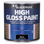 High Gloss Paint Black (Ready Mixed)