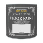 Chalky Finish Floor Paint Winter Grey