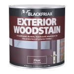 Traditional Exterior Woodstain Satin Clear
