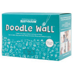 Doodle Wall Dry Erase Kit Clear
