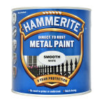Direct to Rust Metal Paint Smooth White