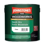 Quick Dry Satin Woodstain Satin Clear