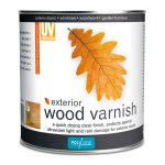 Exterior Wood Varnish Satin Clear
