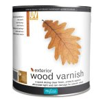 Exterior Wood Varnish Dead Flat Clear