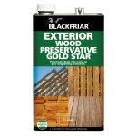 Exterior Wood Preservative Gold Star Clear
