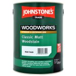 Classic Matt Woodstain Matt Ebony (Ready Mixed)