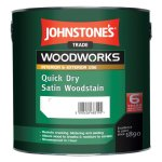 Quick Dry Satin Woodstain Satin Jacobean Oak (Ready Mixed)