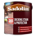 Decking Stain and Protector Satin Natural (Ready Mixed)