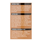 Quick Dry Opaque Wood Finish Satin Ebony (Ready Mixed)
