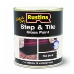 Quick Dry Step & Tile Paint Black