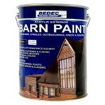 Barn Paint Satin Black (Ready Mixed)