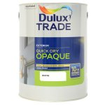 Weathershield Quick Dry Opaque Satin White