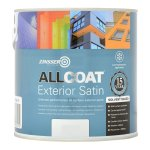 AllCoat Exterior Satin Black (Ready Mixed)