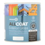 AllCoat Exterior Gloss Black (Ready Mixed)