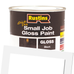 Quick Dry Small Job Gloss Paint Black