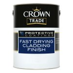 Protective Coatings Fast Drying Cladding Finish Black 00E53 (Ready Mixed)