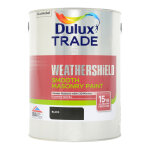 Weathershield Smooth Black (Ready Mixed)