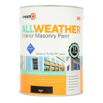 All Weather Exterior Masonry Black (Ready Mixed)