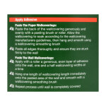 High Performance Ready Mixed Wallpaper Adhesive 5 Roll