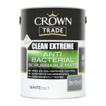 Clean Extreme Anti-Bacterial Scrubbable Matt White