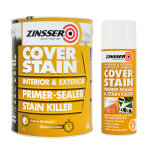 Cover Stain 5L + Cover Stain Aerosol 400ml