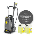 1 X Xpert One Pressure Washer 240V + 2 X Universal Cleaner 5L