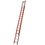 Fibreglass Utility Double Extension Ladder