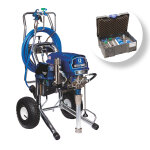 Ultra Max II 695 PC Pro Stand BlueLink Sprayer + Large Painting Job Systainer