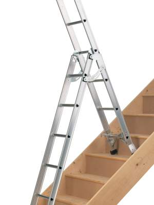 Choosing the right ladder can make the job a lot easier and safer.