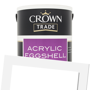 Acrylic Eggshell Coloured