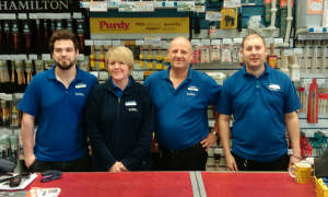 The team at Dartford