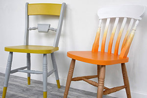 Painting your own furniture adds personality to your home
