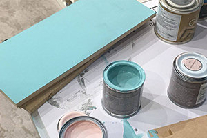 Customise your furniture using a range of paints and paint effects